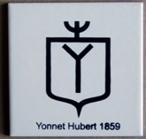 petit carreau blanc Hubert Yonnet